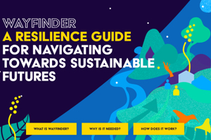 Wayfinder is a new generation of resilience assessment and planning for development practitioners