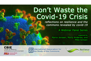 Don't Waste the Covid-19 Crisis: Reflections on Resilience & the Commons Revealed by Covid-19